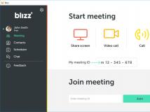 Blizz by TeamViewer für Webkonferenzen und Online-Zusammenarbeit