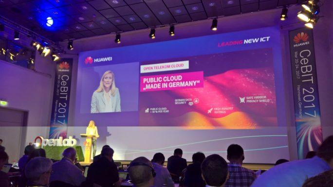 Huawei auf der CeBIT 2017 (Bild: Rüdiger)