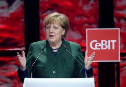 Angela Merkel, Bundeskanzlerin der Bundesrepublik Deutschland. (Bild: Deutsche Messe AG)