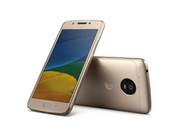 Moto G5 in Fine Gold (Bild: Lenovo/Motorola)