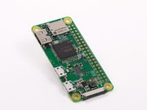Raspberry Pi Zero W: Einplatinen-Computer mit WLAN und Bluetooth vorgestellt