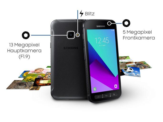 Samsung Galaxy Xcover 4 (Bild: Samsung)