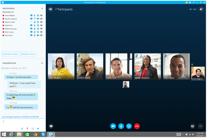 Skype for Business (Bild: Microsoft/ZDNet.com)