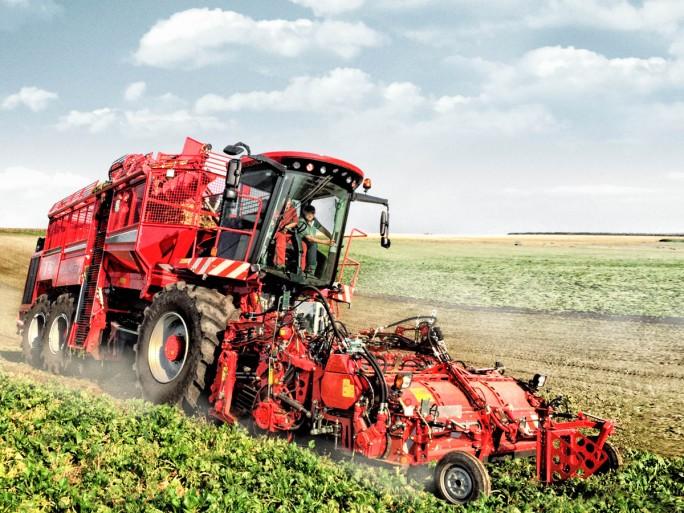 In eine rKooperation mit dem Fraunhofer ESK und dem Landmaschinenhersteller Holmer ist Huawrei auch an einer IoT-Lösung für vorausschauende Wartung (Predictive Maintenance) beteiligt. (Bild: Holmer Maschinenbau)