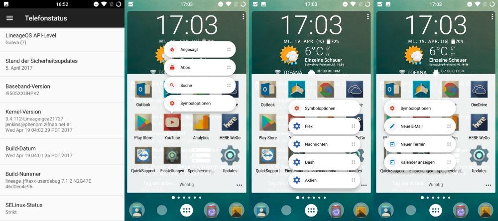 Android-App datiert