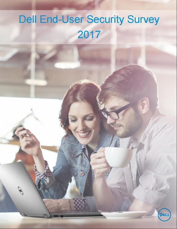 Dell End-User Security Survey 2017 (Screenshot: ZDNet)