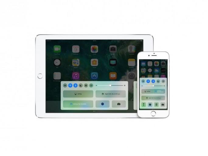 Kontrollzentrum von iOS 10 (Bild: Apple)