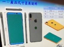 iPhone 8: Technische Skizzen zeigen fast rahmenloses Display und rückseitige Touch ID