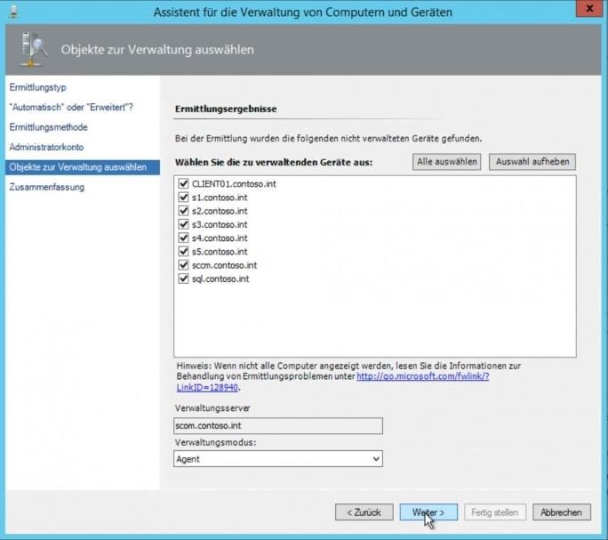 HPE-Server lassen sich an SCOM anbinden, und mit dem HPE OneView Management Pack effizient überwachen (Screenshot: Thomas Joos).