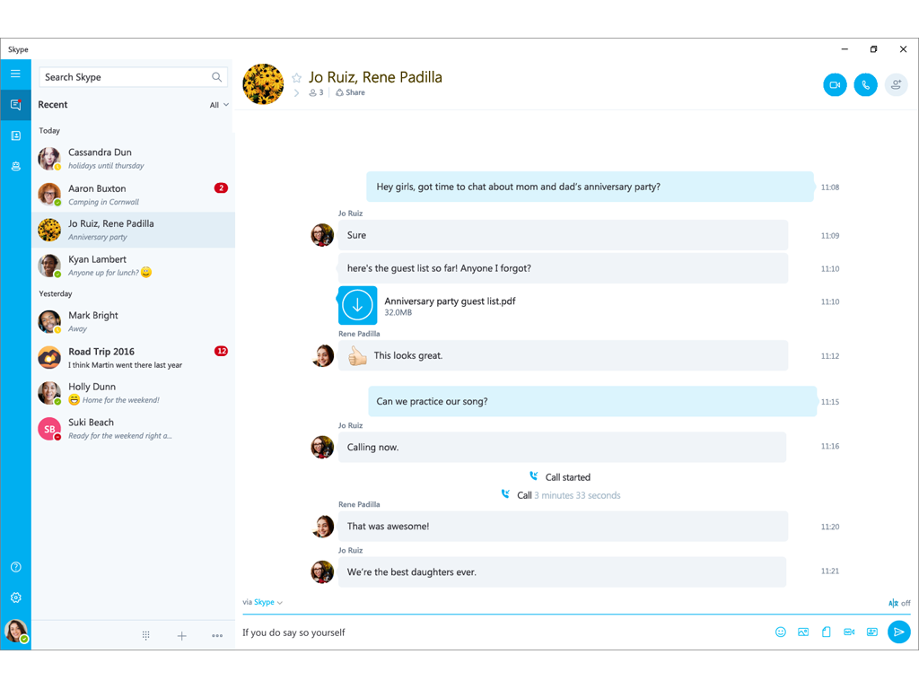 Skype Cam Kontakte