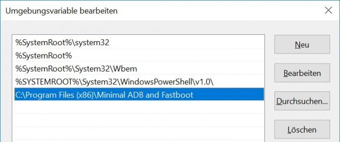 Pfad erweitern (Screenshot: ZDNet.de)