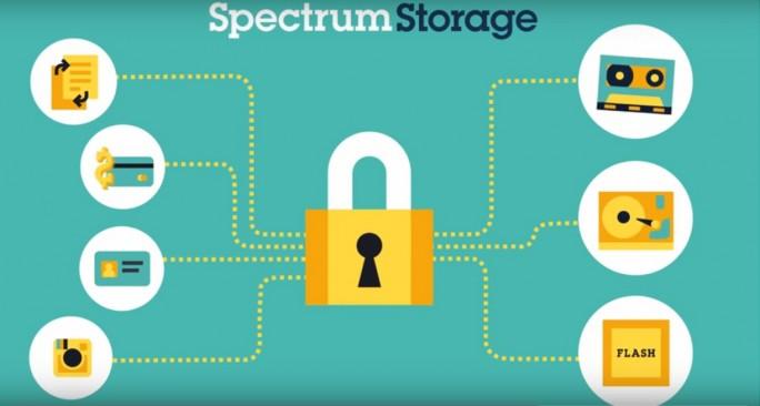 Mit der Software-Defiend Storage-Lösung Spectrum Storage unterstützt IBM bereits erste Features von NVMe. (Bild: IBM)