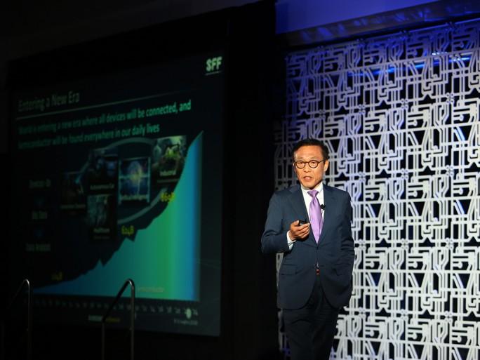 Kinam Kim, Chef von Samsung Halbleiter (Bild: Samsung)