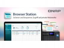 App Browser Station ermöglicht Erstellung virtueller Browser auf Qnap-NAS