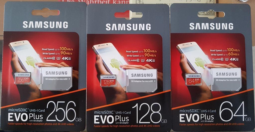 Samsung Galaxy S7 Sd Karte Größe.Microsd Card Samsung Evo Plus 256gb 2017 Im Praxistest Zdnet De