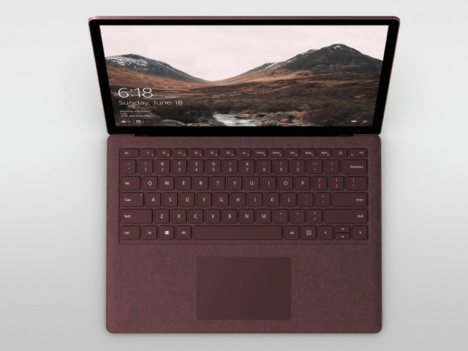 Microsoft: Surface Laptop mit Windows 10 S (Bild: Microsoft: ZDNet.de)