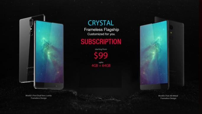 Umidigi Crystal für 99 Dollar (Bild: Umidigi)