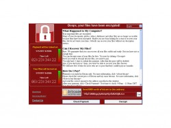 WannaCry (Screenshot: Microsoft)