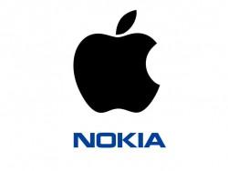 Apple und Nokia (Bild: Apple und Nokia)