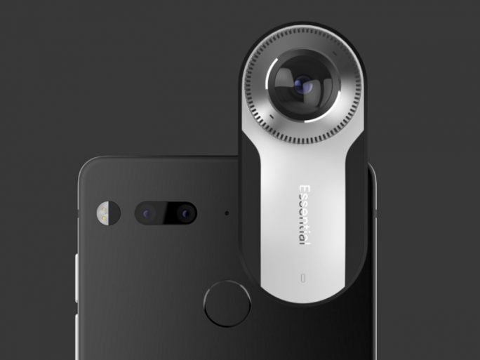 Essential Phone mit kompakter 360-Grad-Kamera (Screenshot: ZDNet.de)