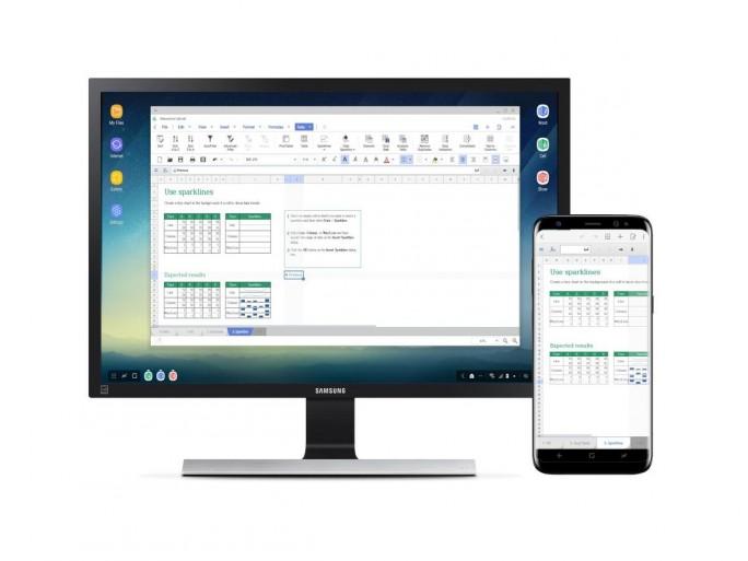 Hancom Office Mobile für Samsung DeX (Bild: Hancom)