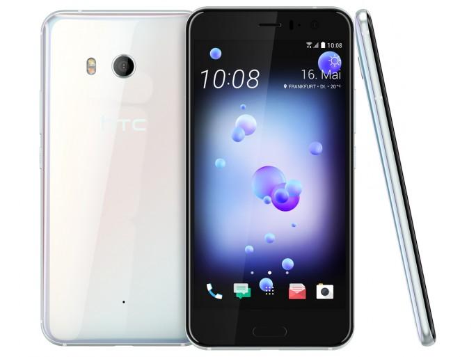 HTC U 11 in der Farbe Ice White (Bild: HTC)