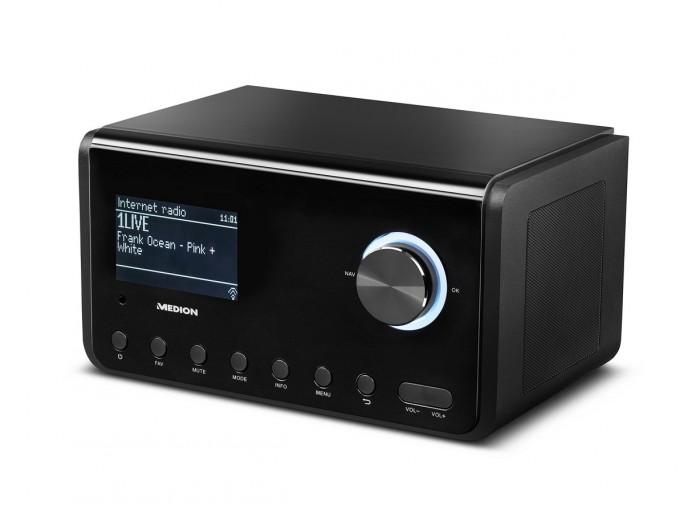 Medion P85105 WLAN Internet-Radio (Bild: Medion)