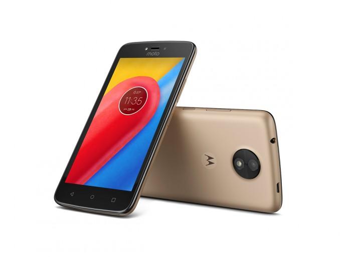 Motorola Moto C (Bild: Motorola)