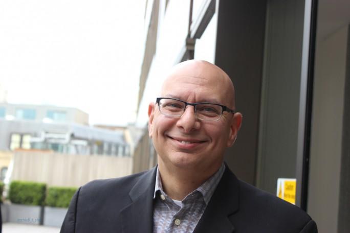 """""""Wir machen unsere DNA quelloffen"""", so John Alessio, Vice President Global Services bei Red Hat. Dabei komme auch der neuen Facility in der Monument Road in London eine wichtige Rolle zu. (Bild: M. Schindler)"""