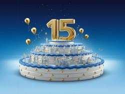 O2 wird 15 (Bild: Telefonica)