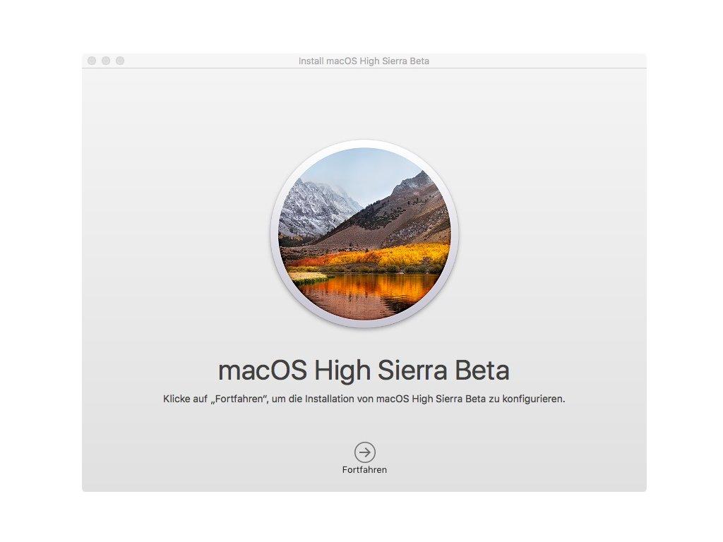mac os high sierra download klappt nicht
