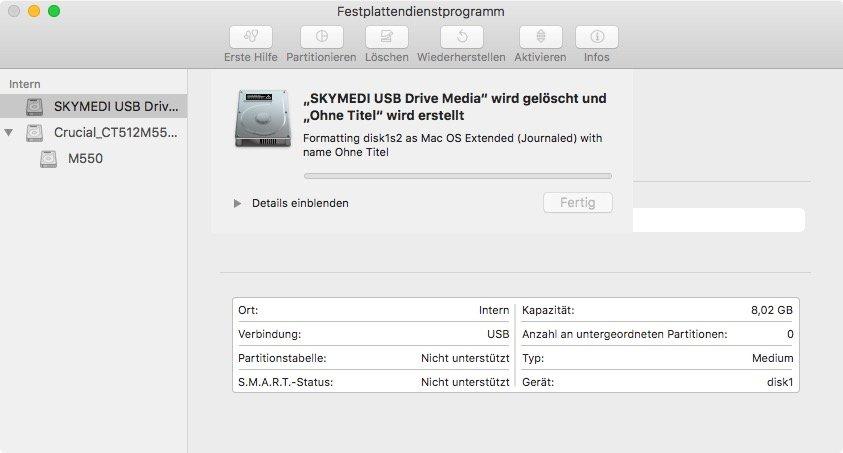 macOS 10 13 High Sierra herunterladen und bootfähigen USB-Stick
