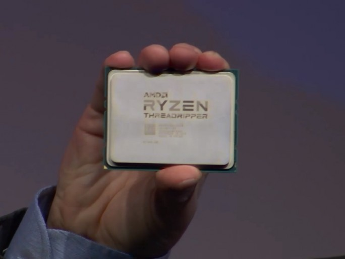 AMD Ryzen Threadripper (Screenshot: ZDNet.de)