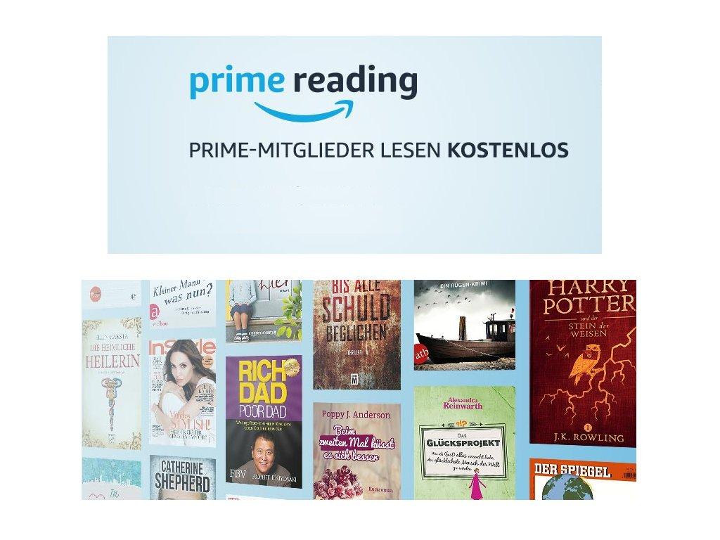 Amazon Prime Reading in Deutschland verfügbar