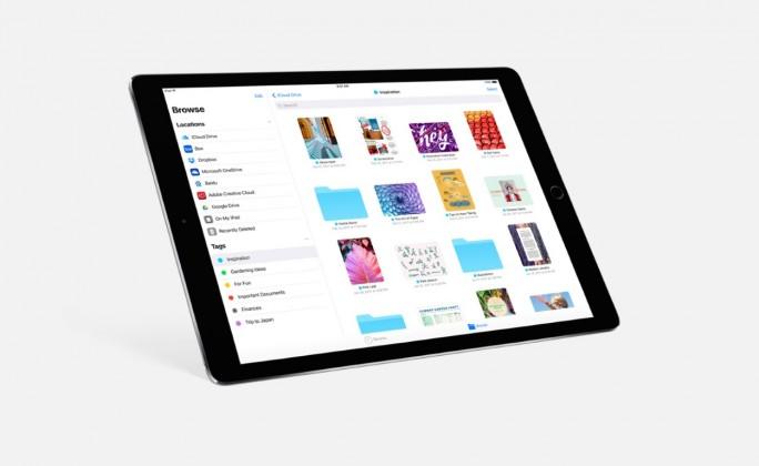 iOS 11: Der neue Dateimanager erlaubt die Integration von Dritthersteller-Lösungen (Bild: Apple)