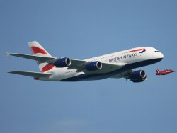 Airbus A380 (Bild: British Airways)
