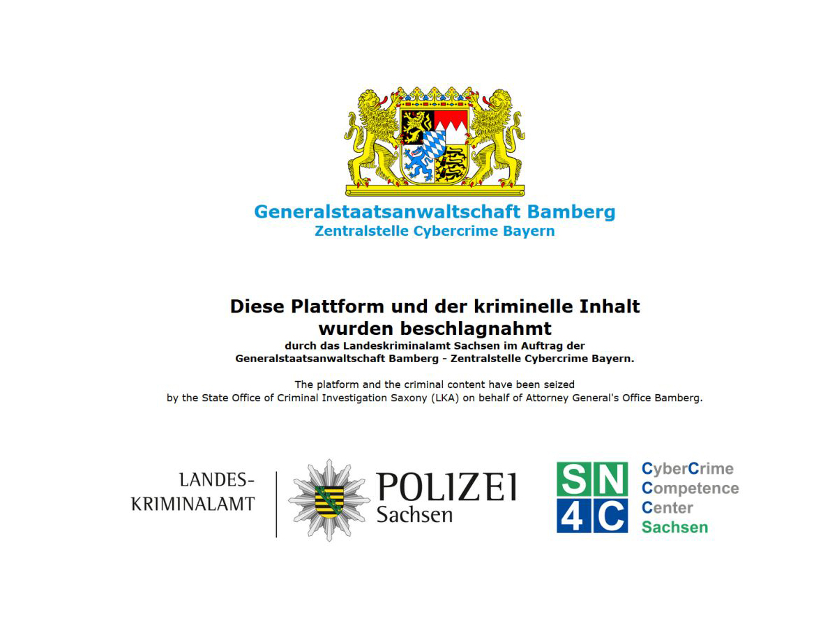 LKA Sachsen sperrt MP3- und PDF-Download-Portal LuL.to