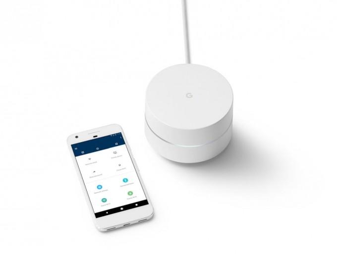 Google Wifi: WLAN-Router mit Mesh-Support (Bild: Google)