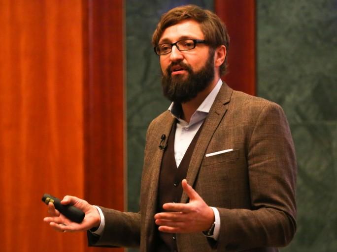"""""""Wir reden immer von Digitalisierung, tun aber so, als ob das auf den vorhandenen Netzwerken funktionieren könnte"""", so Oliver Tuszik, Deutschland-Chef von Cisco. (Bild: Cisco)"""