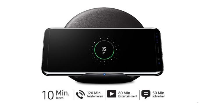 S8-Angebot inklusive induktiver Schnellladestation (Screenshot: ZDNet.de)