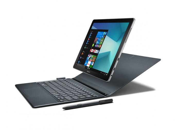 Das Samsung Galaxy Book wird mit Displaydiagonalen von 10,6 und 12 Zoll angeboten (Bild: Samsung)