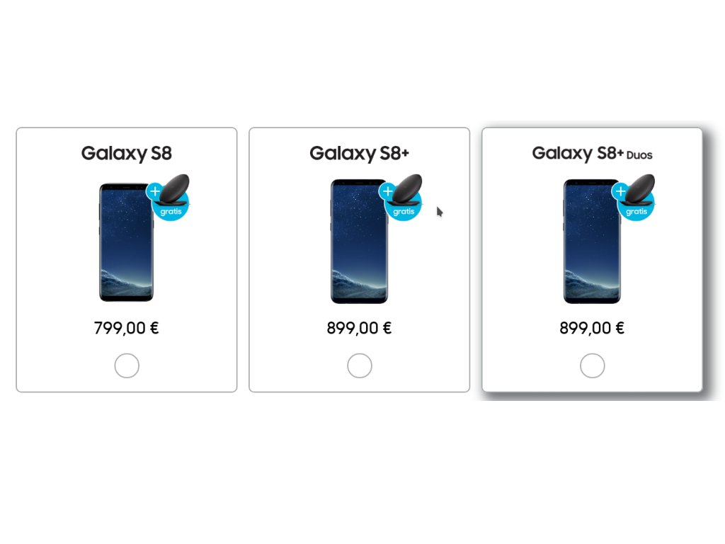 Samsung Galaxy S8+ Duos in Deutschland erhältlich