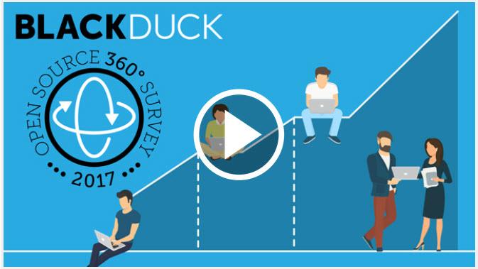 Eine detaillierte Präsentation der Open Source 360-Grad-Studie wird ab 22. Juni nach dem Webcast auf der Black Duck Webseite verfügbar sein (Screenshot: ZDNet.de).