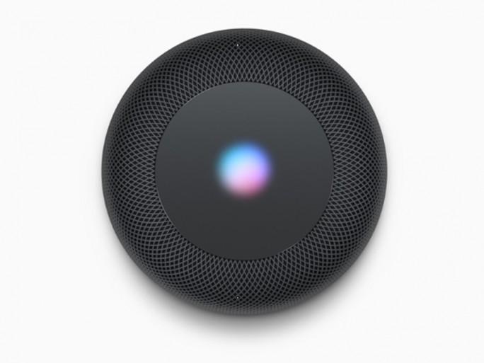 Durch die Wellenform auf der Oberseite wird angezeigt, wann Siri eingesetzt wird (Bild: Apple).