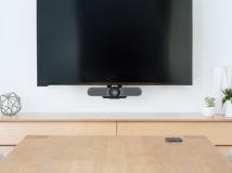 Logitech stellt neue Konferenzkamera MeetUp speziell für Huddle Rooms vor
