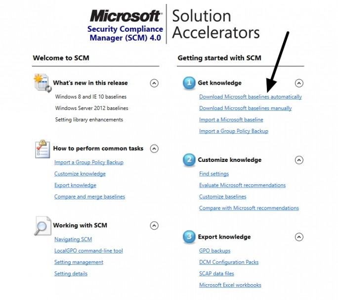 Im ersten Schritt muss SCM aktualisiert werden. Dazu steht in der Oberfläche ein Assistent zur Verfügung (Screenshot: Thomas Joos).
