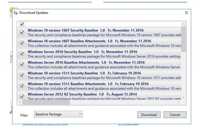 Neue Sicherheits-Funktionen lassen sich online herunterladen (Screenshot: Thomas Joos).