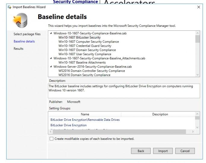 SCM zeigt die neuen Baselines an (Screenshot: Thomas Joos).