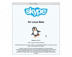 Skype für Linux (Screenshot: ZDNet.de)