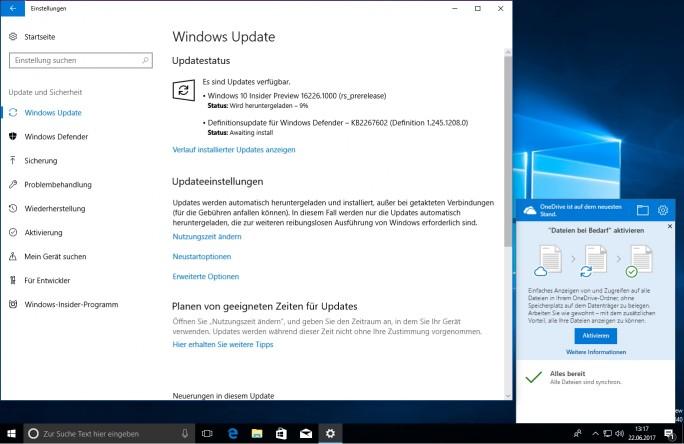 Mit OneDrive – Dateien bei Bedarf lassen sich endlich wieder alle Dateien im Windows-Explorer anzeigen, die in OneDrive gespeichert sind (Screenshot: Thomas Joos).